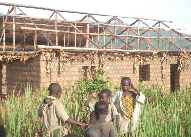 Thumbnail for the post titled: Roofs For Burundi Meeting Houses