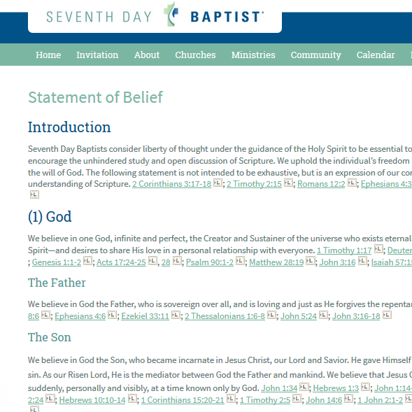 Thumbnail for the post titled: SDB Statement of Belief rev: 20150801 (USA & Canada)