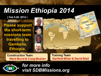 Thumbnail for the post titled: Mission Ethiopia 2014