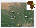 Thumbnail for the post titled: Hostilities Threaten SDB Relatives in South Sudan