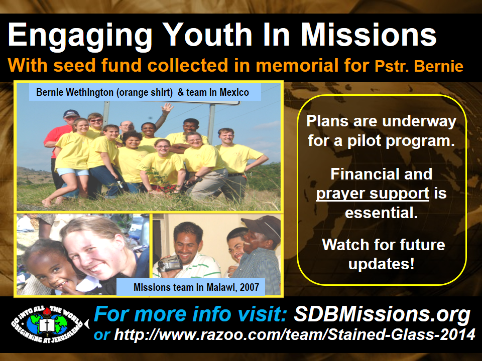 Thumbnail for the post titled: Engaging Youth In Missions