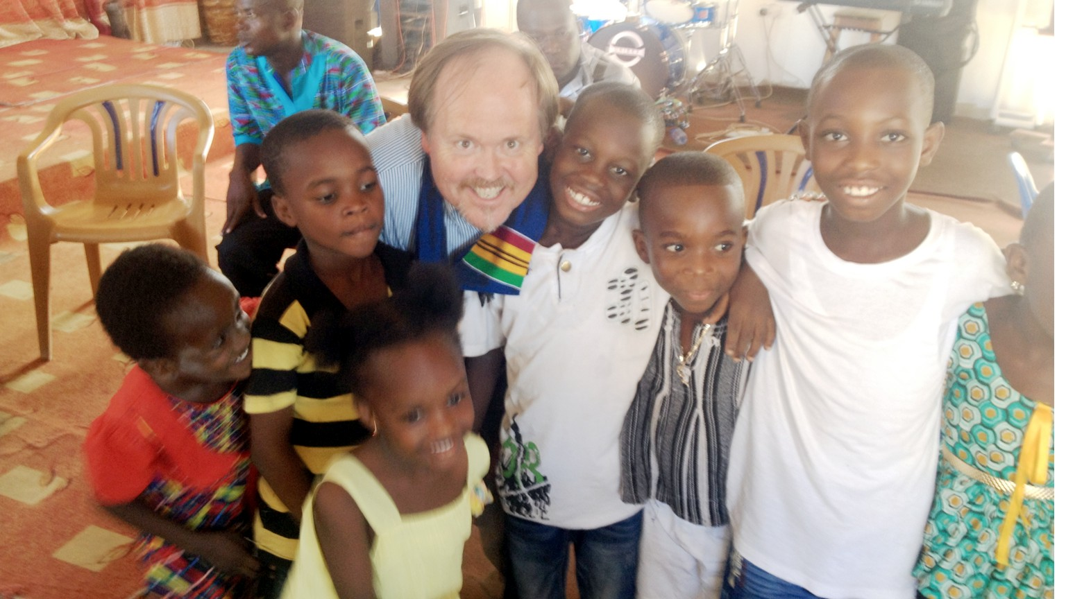 Thumbnail for the post titled: Danny Lee Reports from West Africa