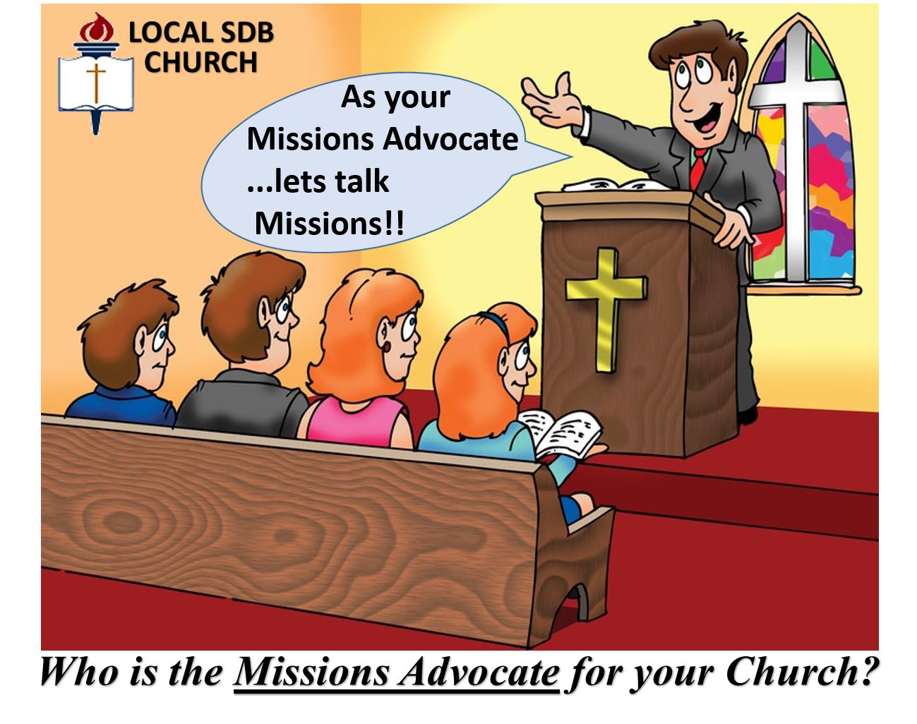 Thumbnail for the post titled: Missions Advocate Opportunity