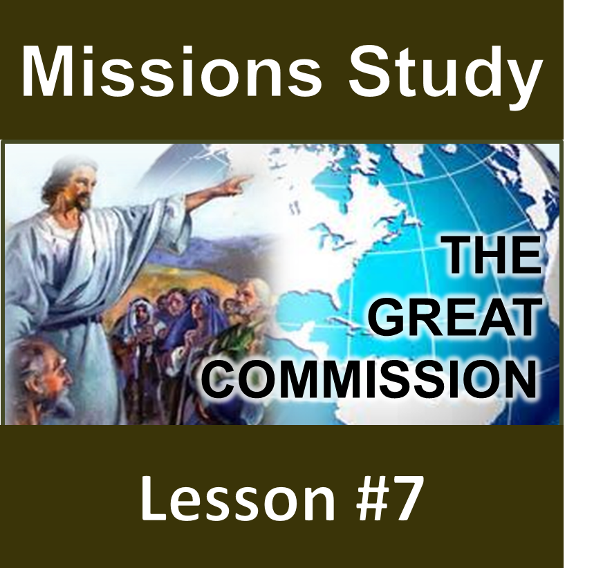Thumbnail for the post titled: Missions Study Series #7 – The Great Commission