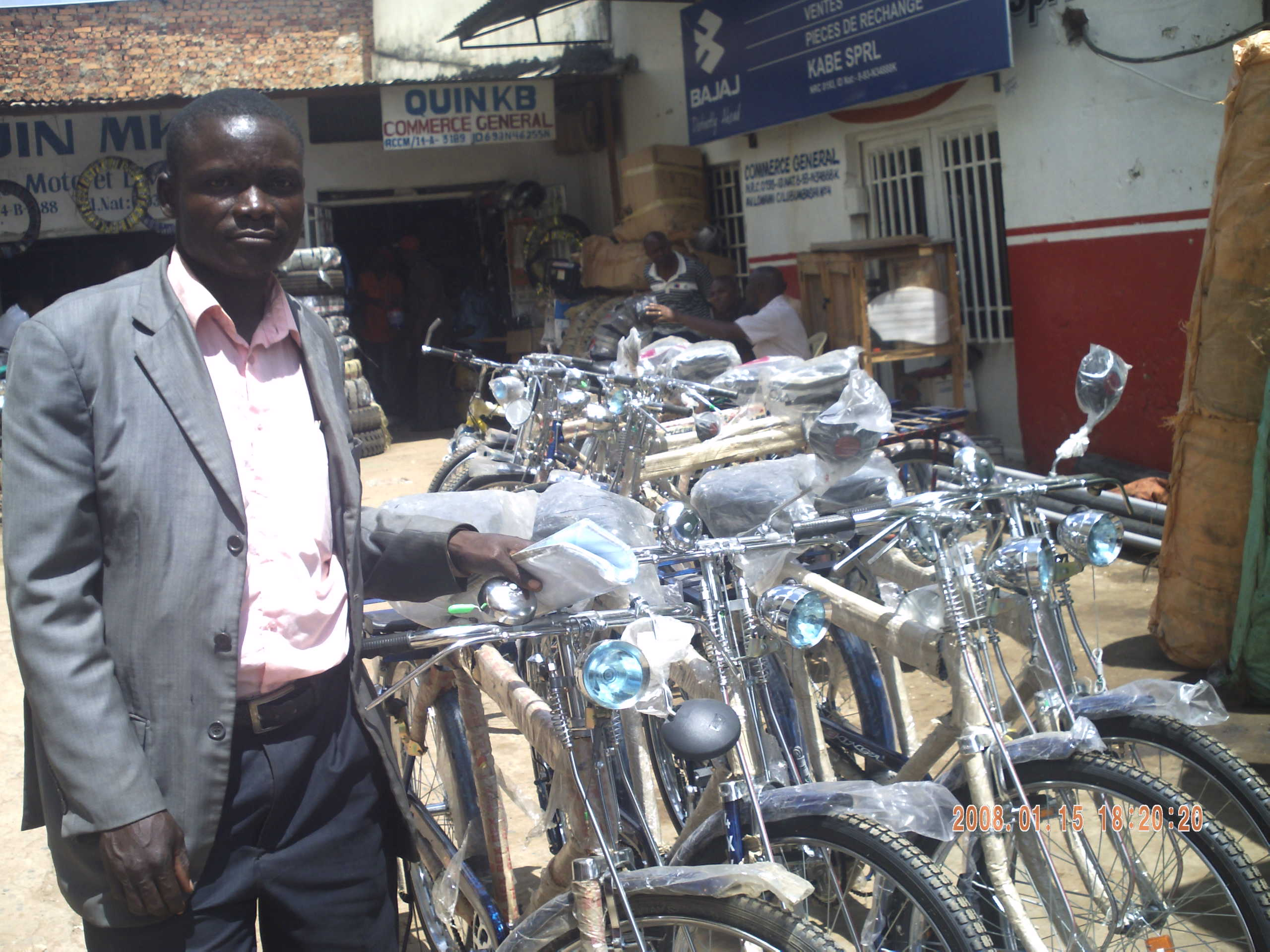 Thumbnail for the post titled: Gospel Feet Bikes (Campaign Concludes) – DR Congo