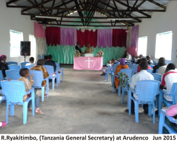 Thumbnail for the post titled: Tanzania SDBs Adopt New Congregation