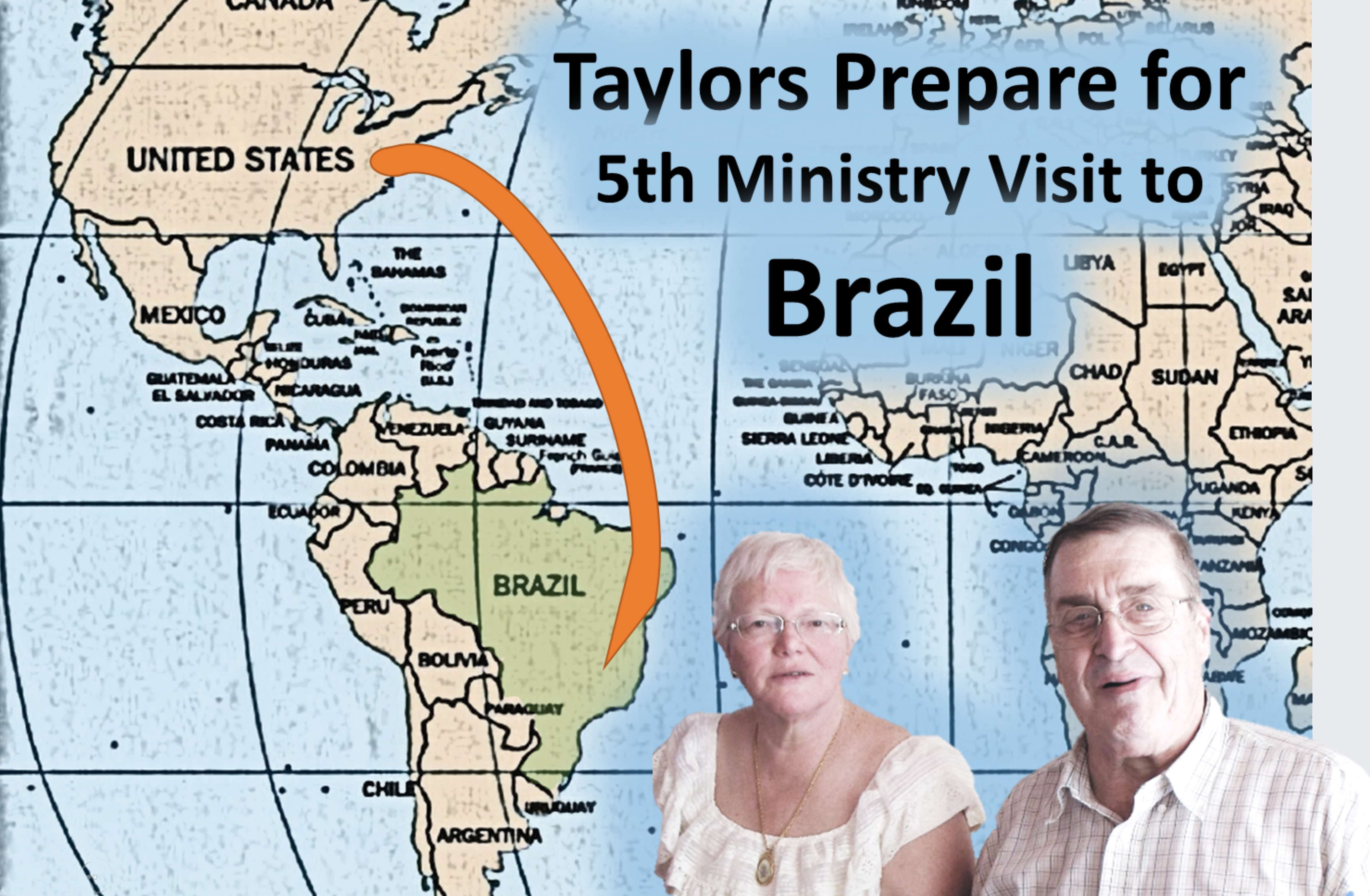 Thumbnail for the post titled: Taylors Prepare for 5th Ministry Visit to Brazil (Fall 2015)