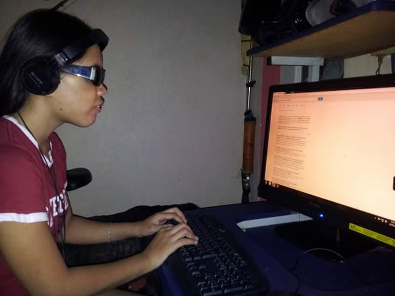 Thumbnail for the post titled: Visually Impaired SDB Youth Grateful for Computer