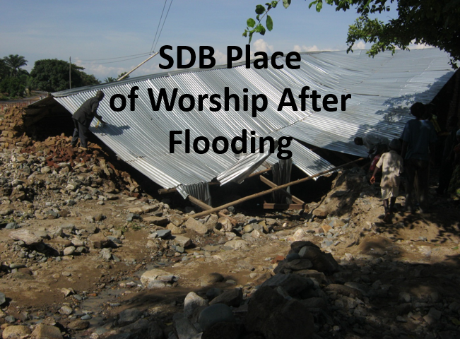 Thumbnail for the post titled: SDB Church Community Enduring Flood Aftermath in Burundi