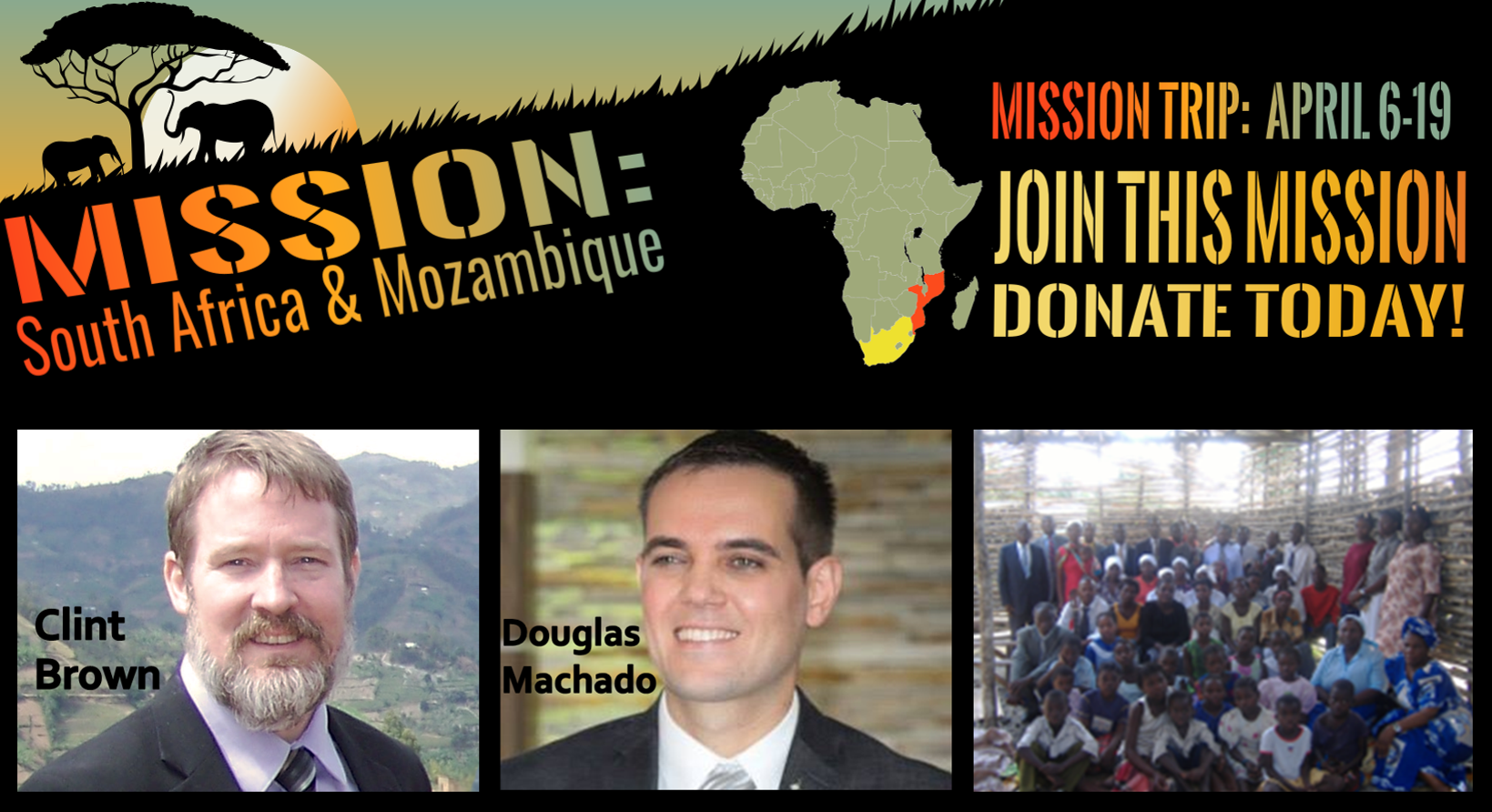 Thumbnail for the post titled: Mission: South Africa and Mozambique