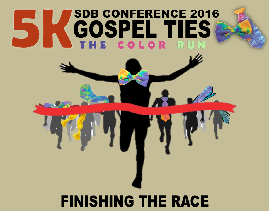 Thumbnail for the post titled: GOSPEL TIES 5K AT CONFERENCE 2016!