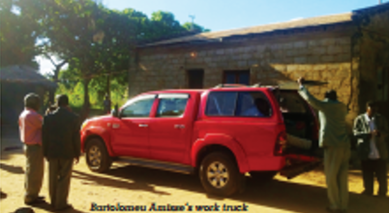 Thumbnail for the post titled: Focus Article – END OF THE ROAD IN MOZAMBIQUE (Sabbath Recorder, June 2016)