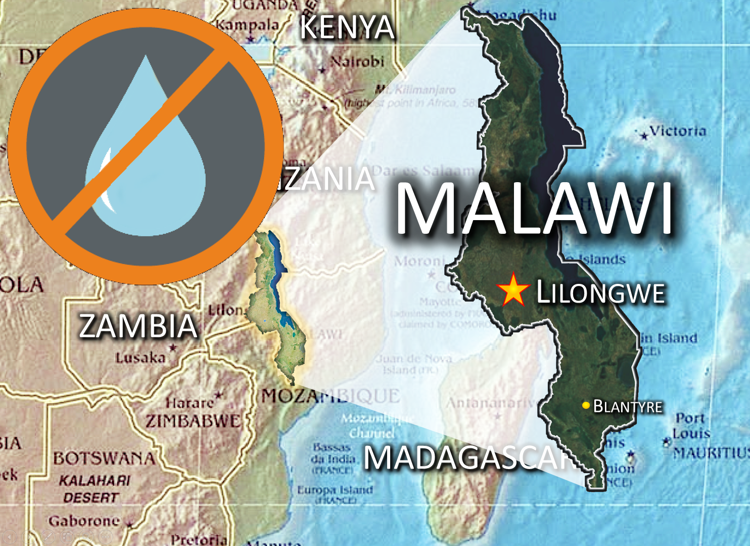 Thumbnail for the post titled: Drought State of Disaster Besets Malawi SDBs