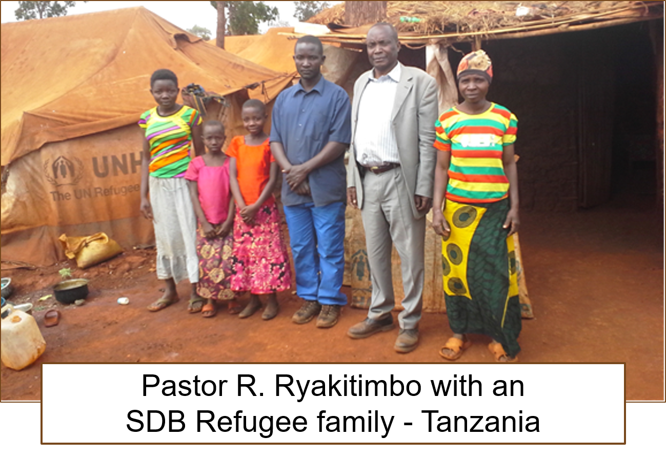Thumbnail for the post titled: Refugees in Uganda & Tanzania