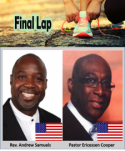 Thumbnail for the post titled: Zambia Training Final Lap
