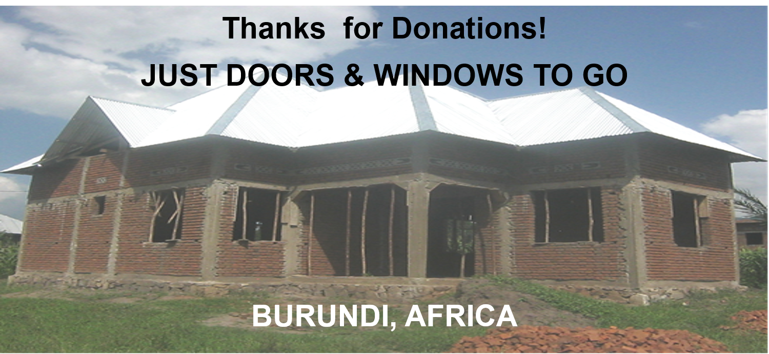 Thumbnail for the post titled: Residence Near Completion – Burundi