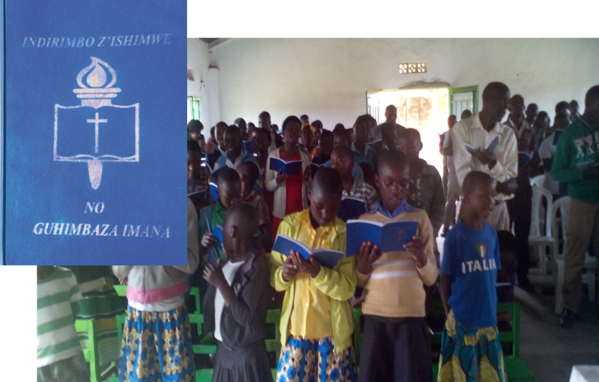 Thumbnail for the post titled: Rwanda Hymnals Update