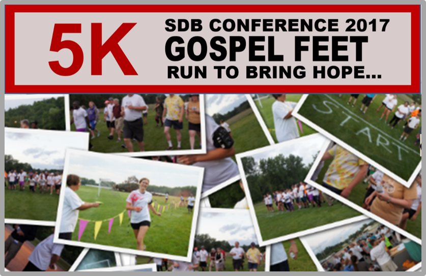 Thumbnail for the post titled: Gospel Feet 5K On for Conference 2017!