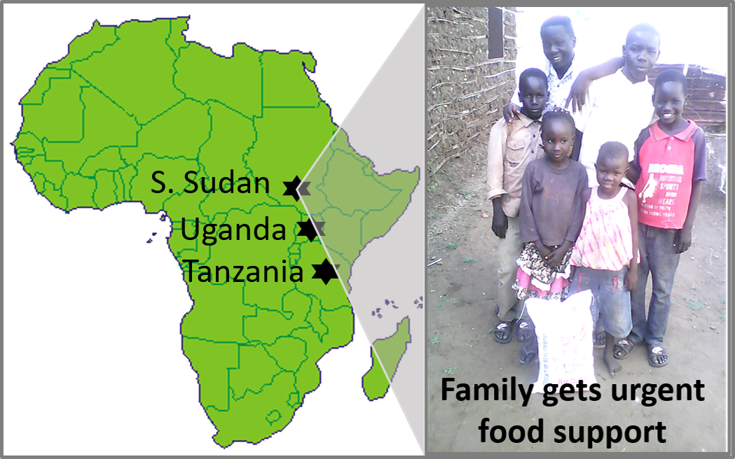 Thumbnail for the post titled: Disaster Relief (Tanz., Uganda & S. Sudan)