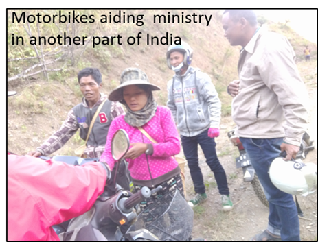 Thumbnail for the post titled: A Motorbike for Ministry – India