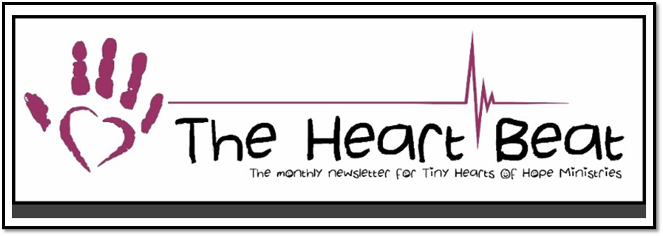 Thumbnail for the post titled: Tiny Hearts Of Hope May Monthly Newsletter | Poem
