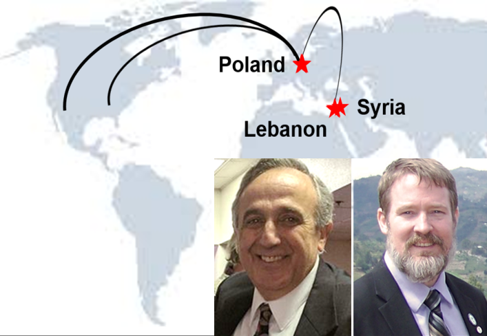 Thumbnail for the post titled: Bejjani and Brown to Poland / Lebanon