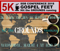 Thumbnail for the post titled: Gospel Feet 5K – Hit the GROUNDS Running