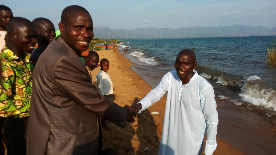Thumbnail for the post titled: Burundi New Believers Baptized