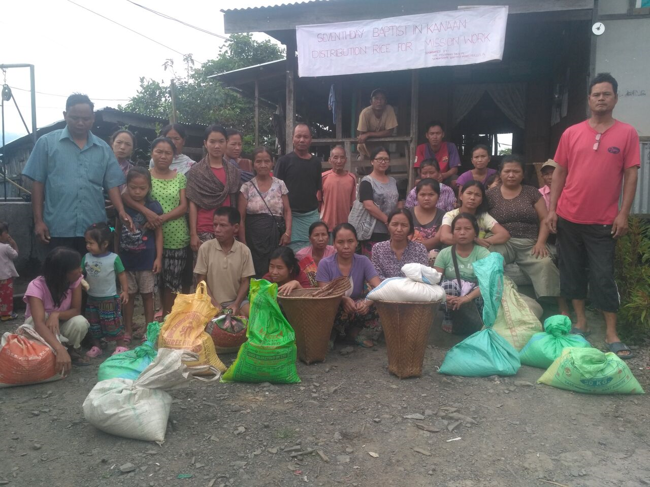 Thumbnail for the post titled: Kanan Hunger Relief Report – India (Manipur)