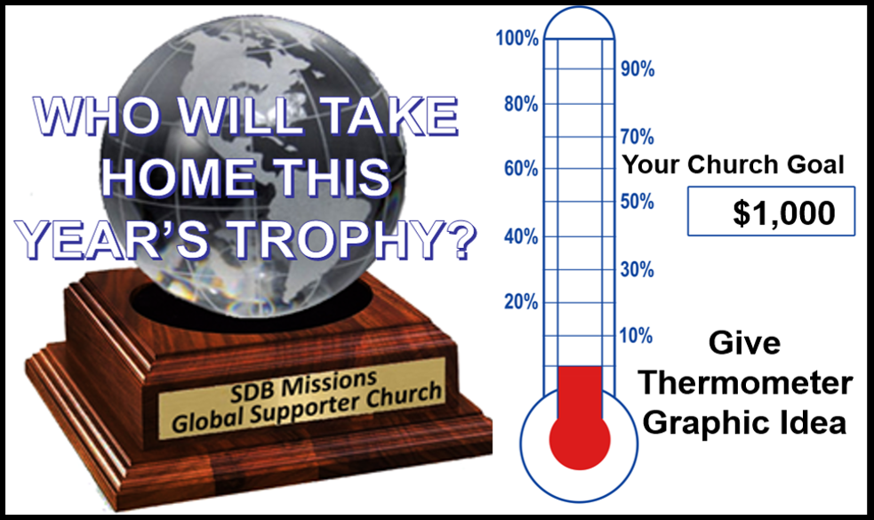 Thumbnail for the post titled: Church Global Missions Award REMINDER
