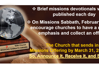 Thumbnail for the post titled: MISSIONS WEEK – THANK YOU!