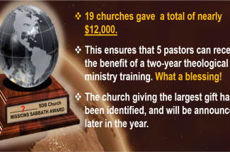 Thumbnail for the post titled: Missions Week 2021 – Thank You!