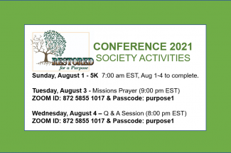 Thumbnail for the post titled: CONFERENCE 2021 – SOCIETY ACTIVITIES